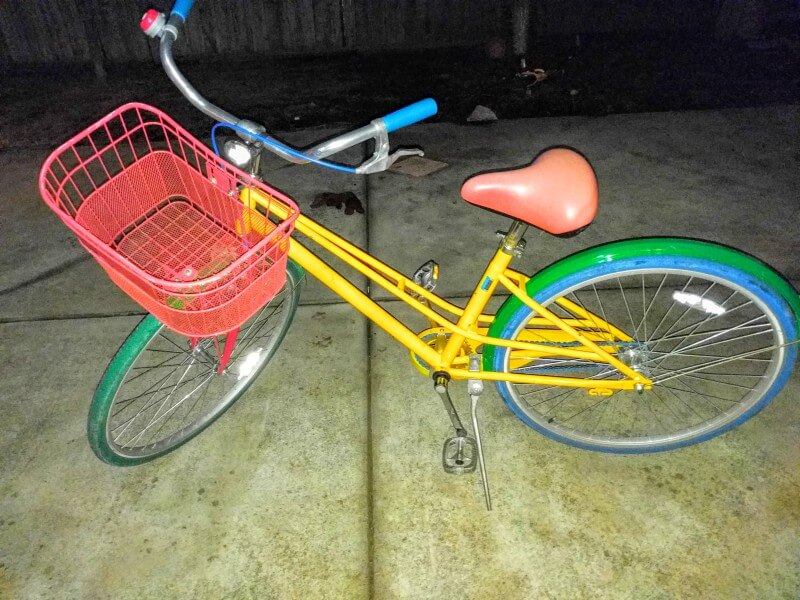 Stolen Google Bike