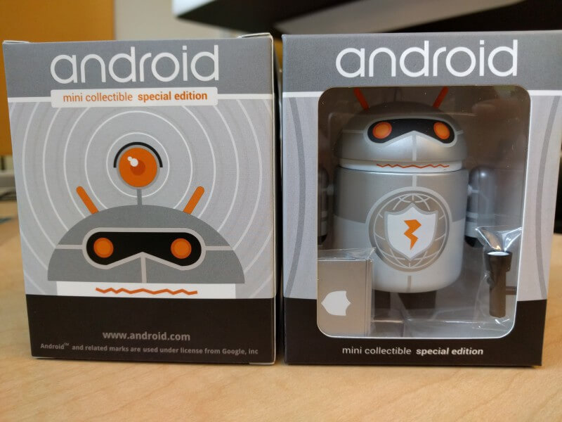 Product Safety Android Google Edition Figurine