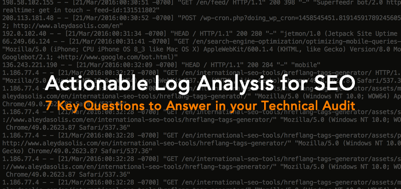 Log Analysis for SEO