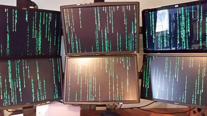 Dave Davies' desktop.