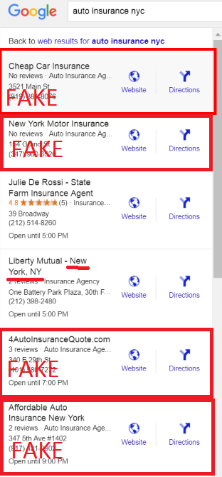 auto insurance nyc Google Search