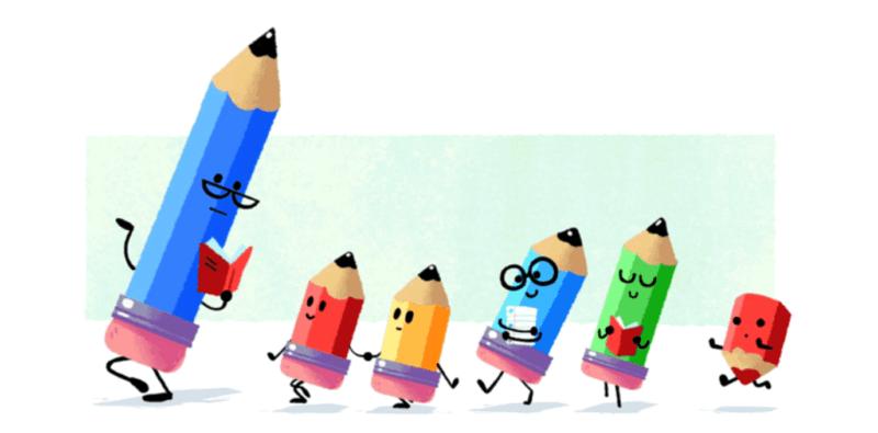teachers-day-2016 google doodle hero image