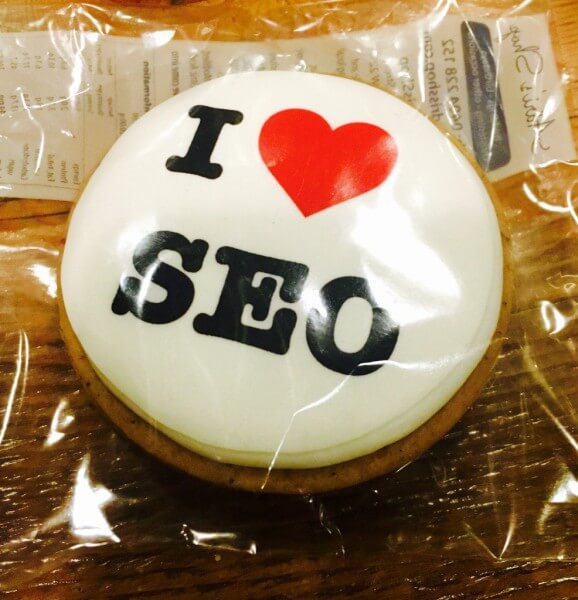 I Love SEO cookie