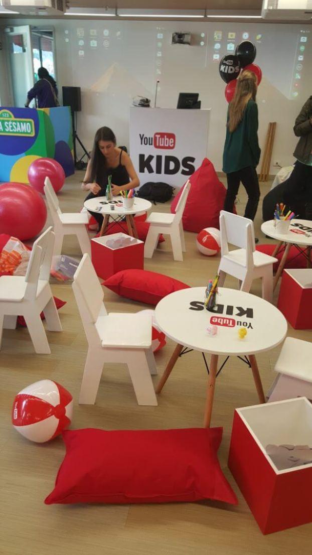 YouTube Kids furniture