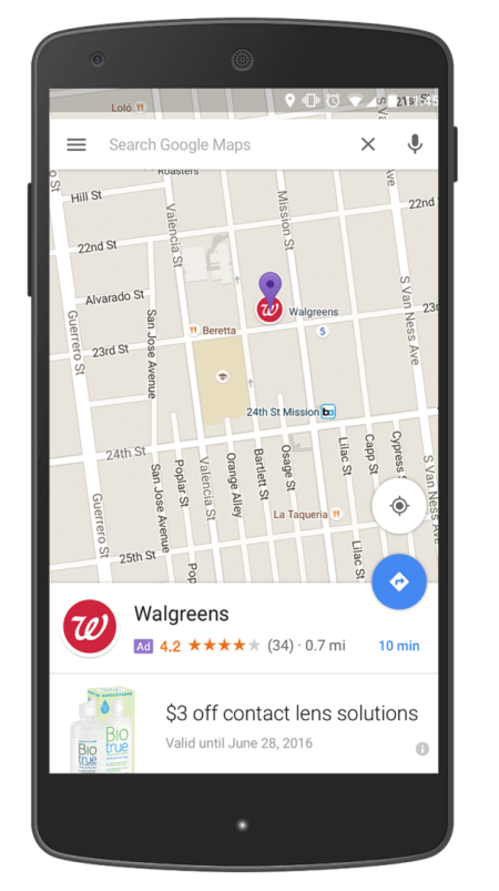 Walgreens Promoted Pins