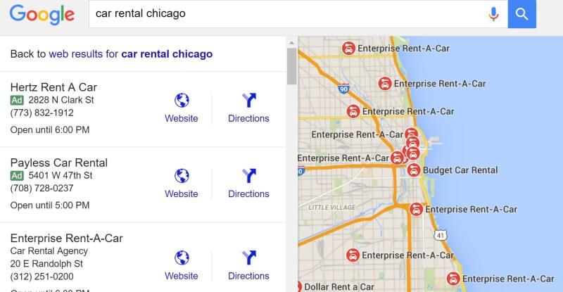 ads in google local pack