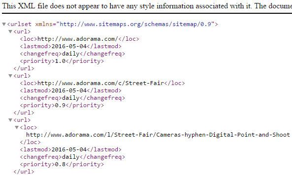 XML Sitemap HTTPS