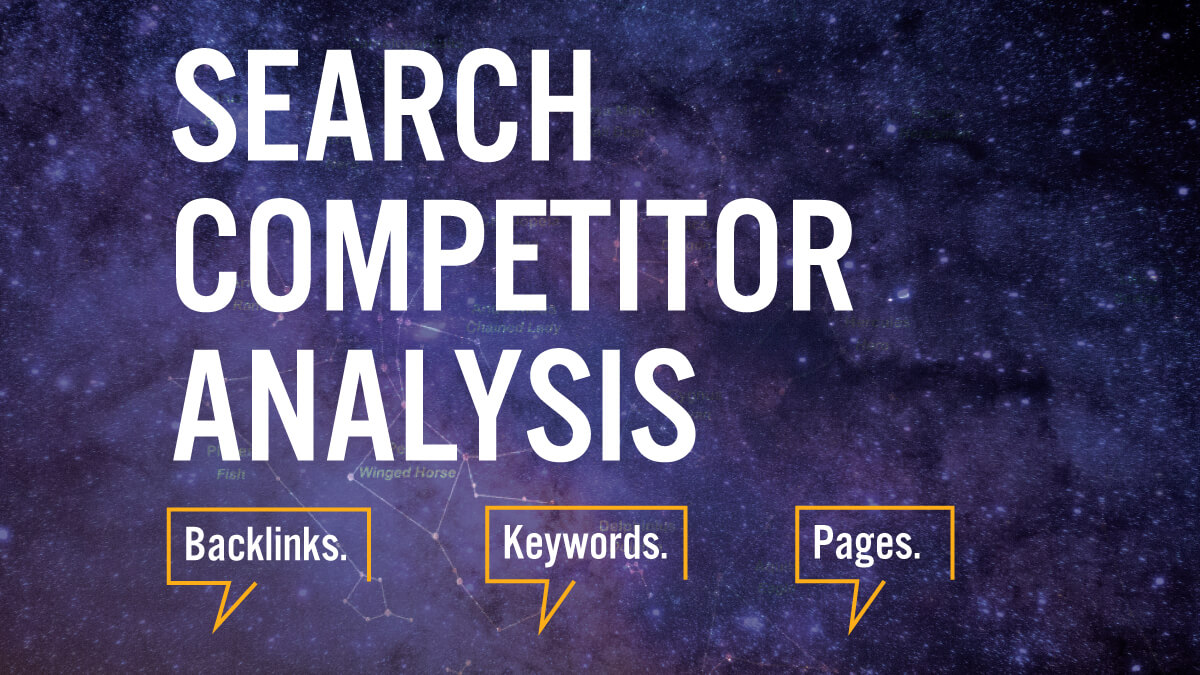 Search Competitor Analysis