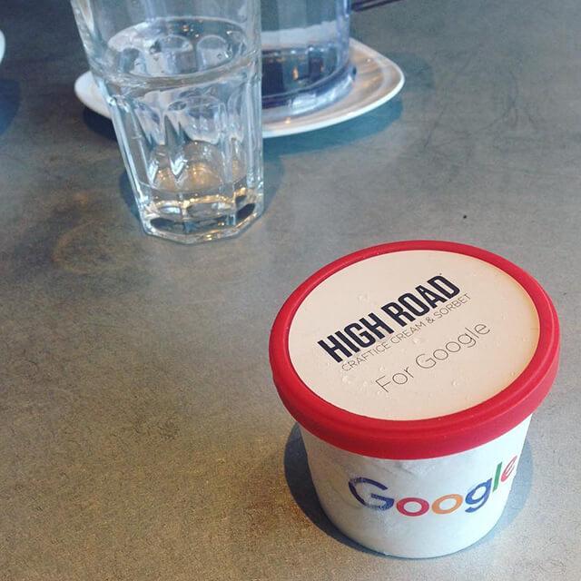 Google sorbet