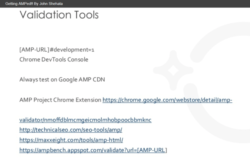 Shehata's Validation Tools
