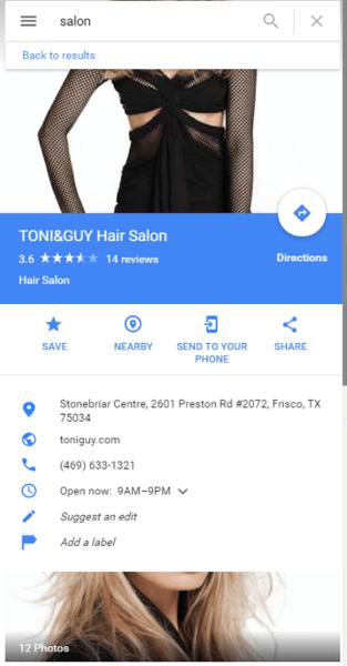 Google Profile Images - failure to properly frame photo