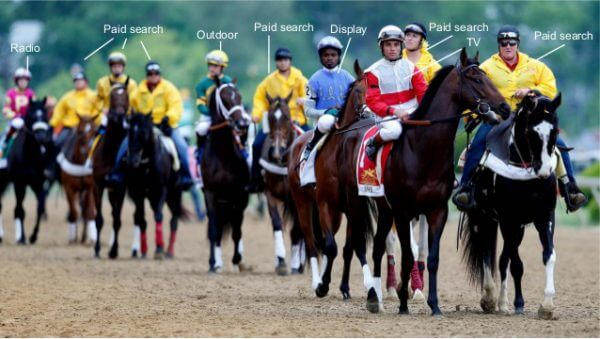 So many horses in this omni-channel race