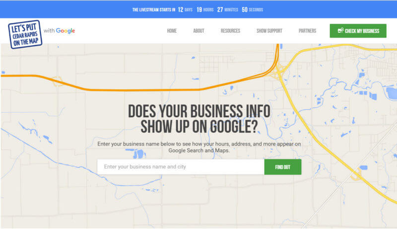 Google Get Your Business Online Program