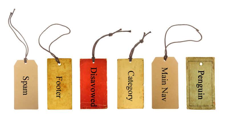 Link labels