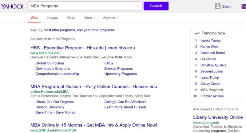 yahoo-mba-programs-serp-page