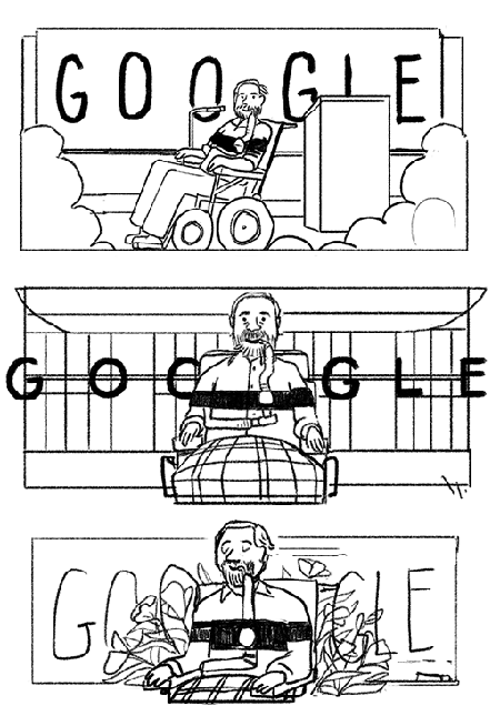 Ed Roberts sketches