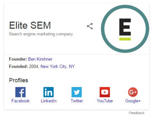 Brand Knowledge Graph Panel Result