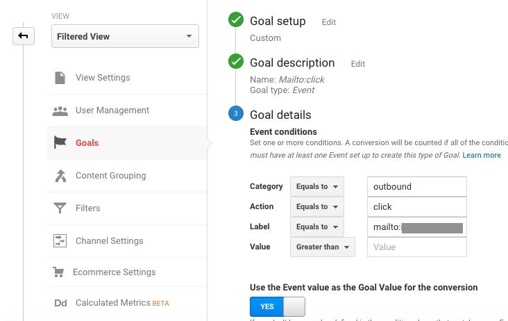 Figure 3: Mailto: Goal