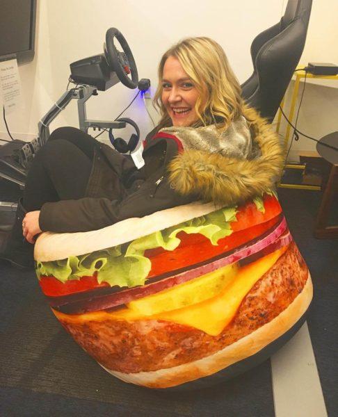 google-hamburger-bean-bag-chair