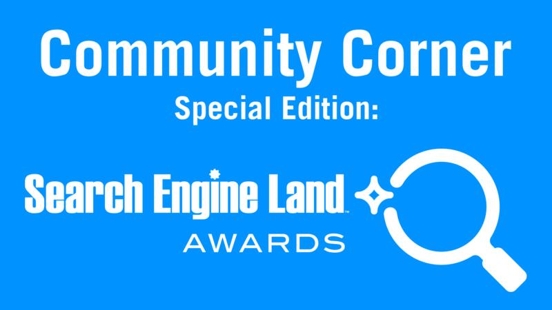 Spotlight on Search Engine Land Award Winners MediaHub & UPMC Health Plan community corner sel awards 800x450