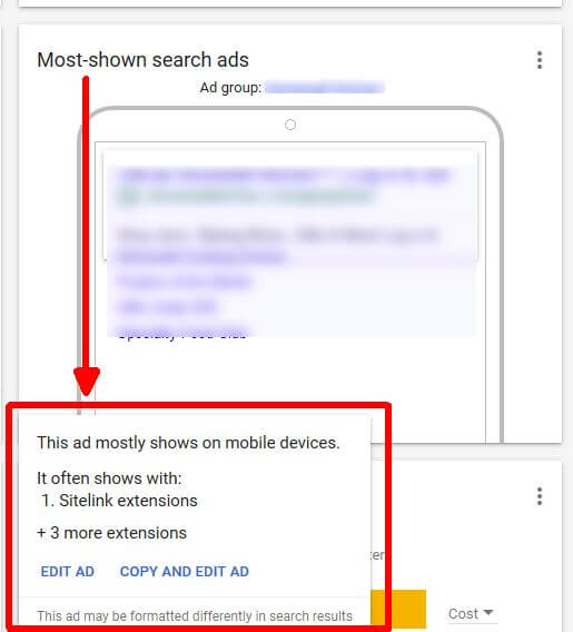 google-ads-overview-page-edit-ads Theme Builder Layout
