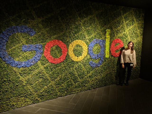 google-carpet-grass-wall-1534935569 Search in Pics: Google's C-3PO, liquid marijuana & hand painted G logo