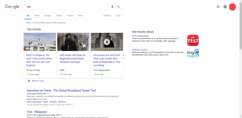 google-rounded-search-bar-800x391 Google confirms testing new search results design with sticky header, rounded search bar