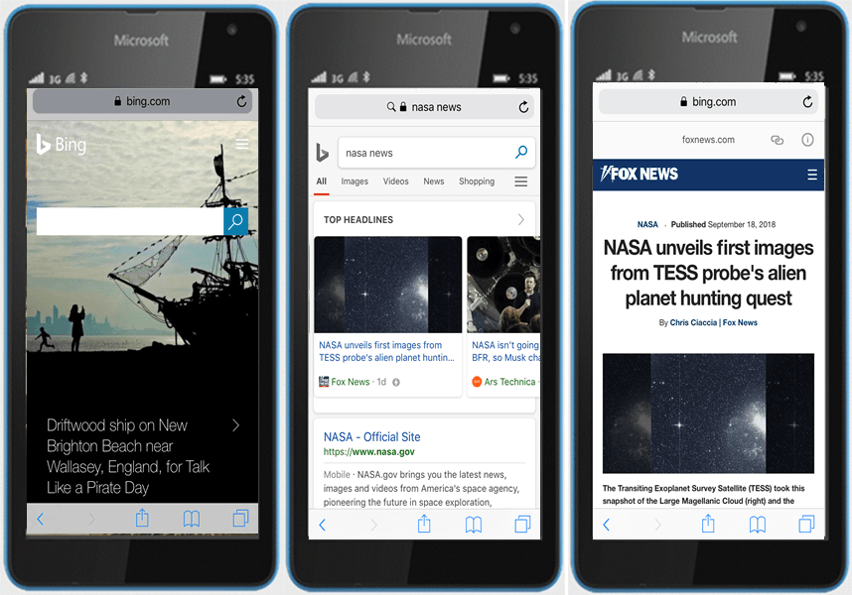 bing-amp-viewer Bing finally releases AMP viewer for news stories in mobile search
