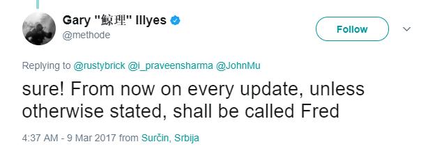 fred update
