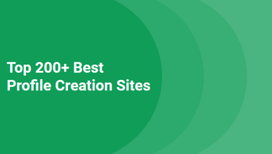 top profile creation sites