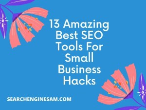 13 Amazing Best SEO Tools For Small Business Hacks