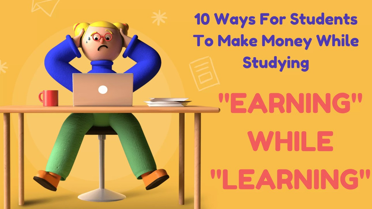 """""""earning while learning"""" features students who"""