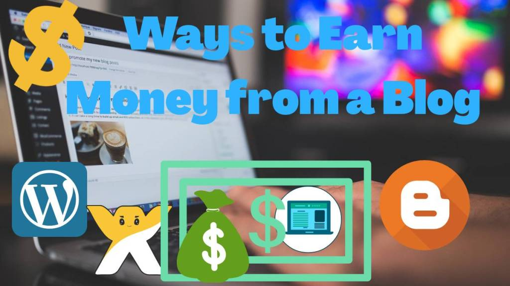 ways to earn money from a blog