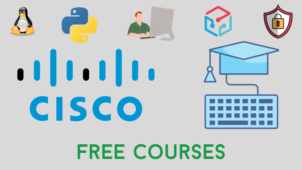 Cisco Free Courses to Learn New Skills [2020]