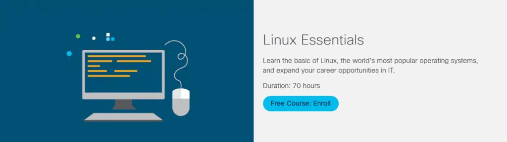 Linux Essentials Course by Cisco