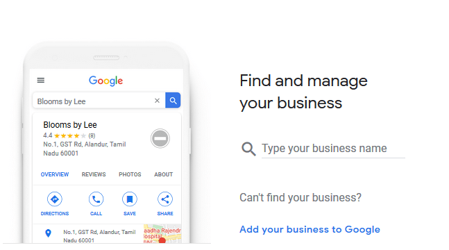 Get your business on Google