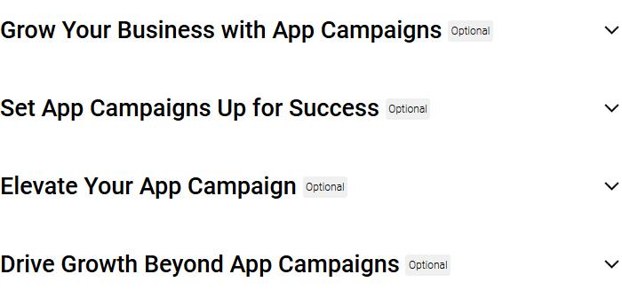 Google Ads Apps Certification