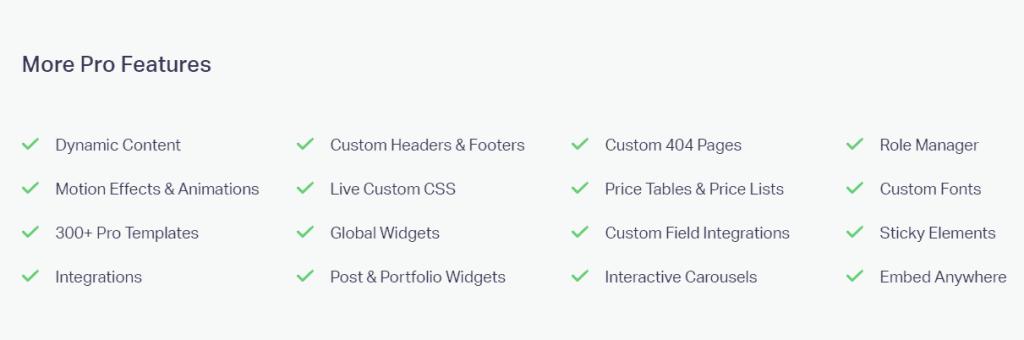 Get Elementor Pro Pricing Plans Elementor com 1