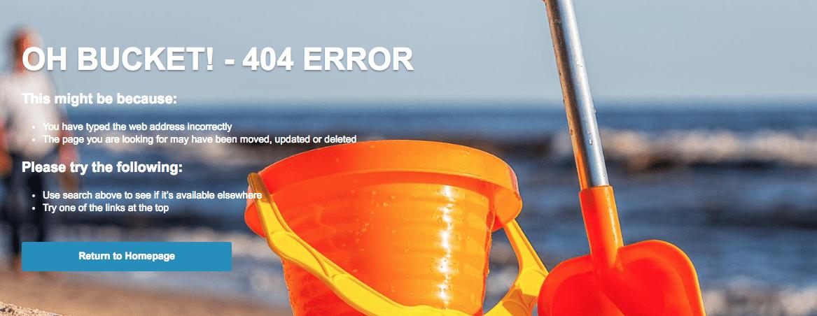 broadway travel 404 error page