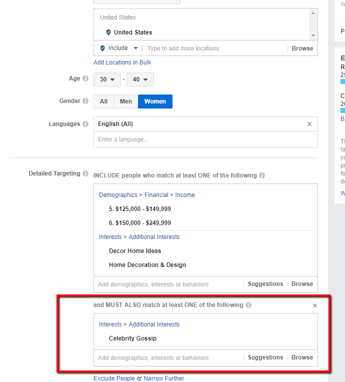 VioPro Marketing Vancouver Facebook-targeting-2 Killer demand gen strategy, Part 3: Facebook advertising