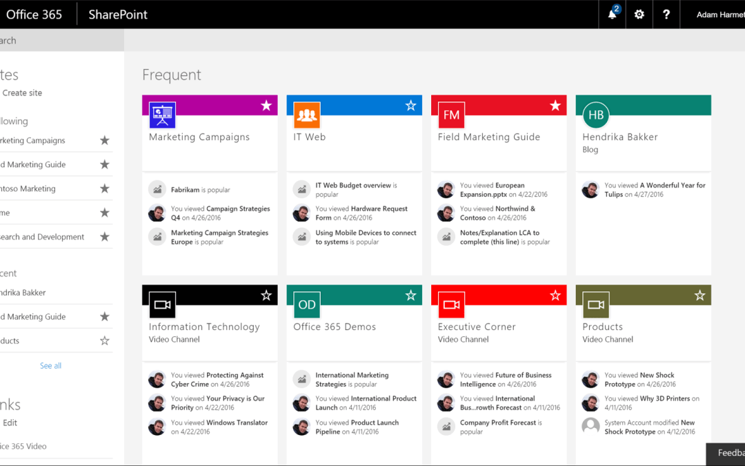 The Future of SharePoint – Search and Discovery
