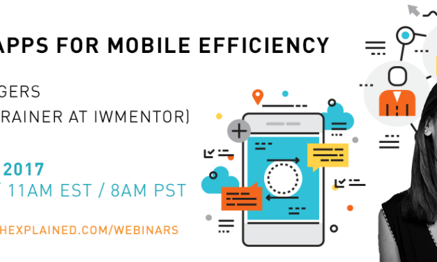 FREE Webinar with Laura Rogers: PowerApps for Mobile Efficiency