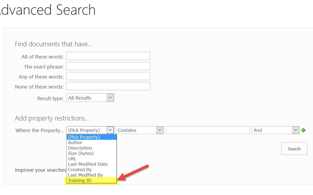Configuring Advanced Search in SharePoint 2013 and 2016