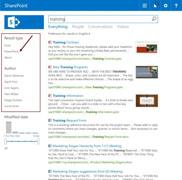 Search refiners: no item count by default in SharePoint 2013, 2016 and Office 365