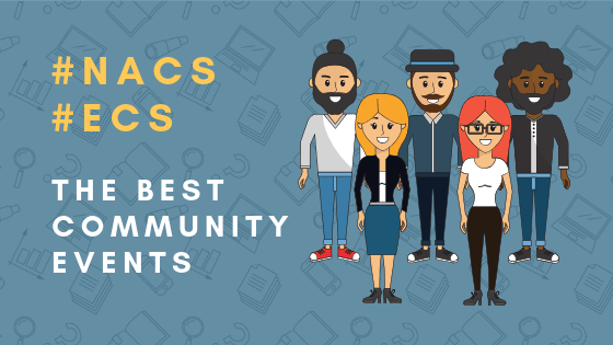 The Best Community Events: North American Collaboration Summit and European Collaboration Summit #NACS #ECS