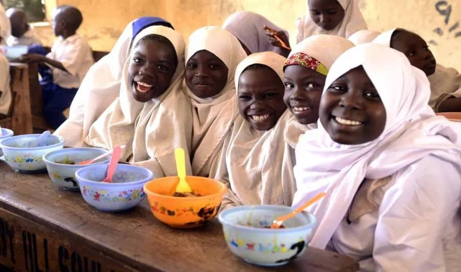 GOVERNOR GANDUJE QUESTIONS SUDDEN SUSPENSION OF SCHOOL FEEDING PROGRAMME IN KANO