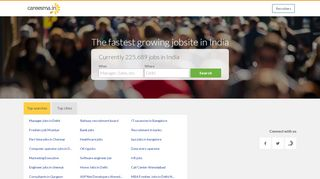 Jobs in India | Job Search | Part Time Jobs | FREE Job Posting in Careesma.in