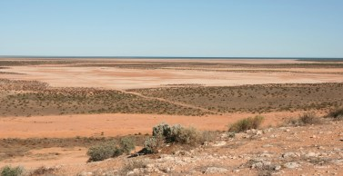 Shark Bay and Monkey Mia lookout, south of Carnarvon