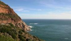 Chapmans Peak Drive near Cape Town