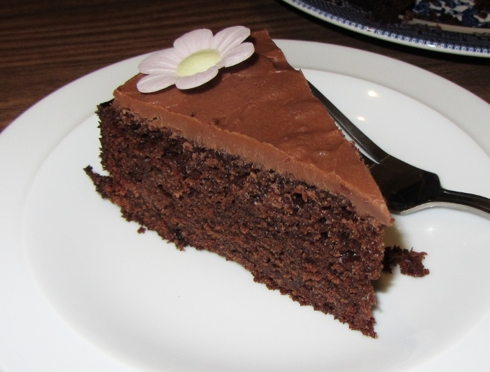 Rich Moist Chocolate Cake - Searching for Spice